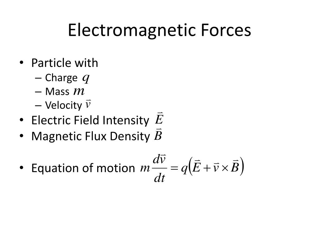 Ppt Electromagnetic Propulsion Powerpoint Presentation Free Download Id 2375545