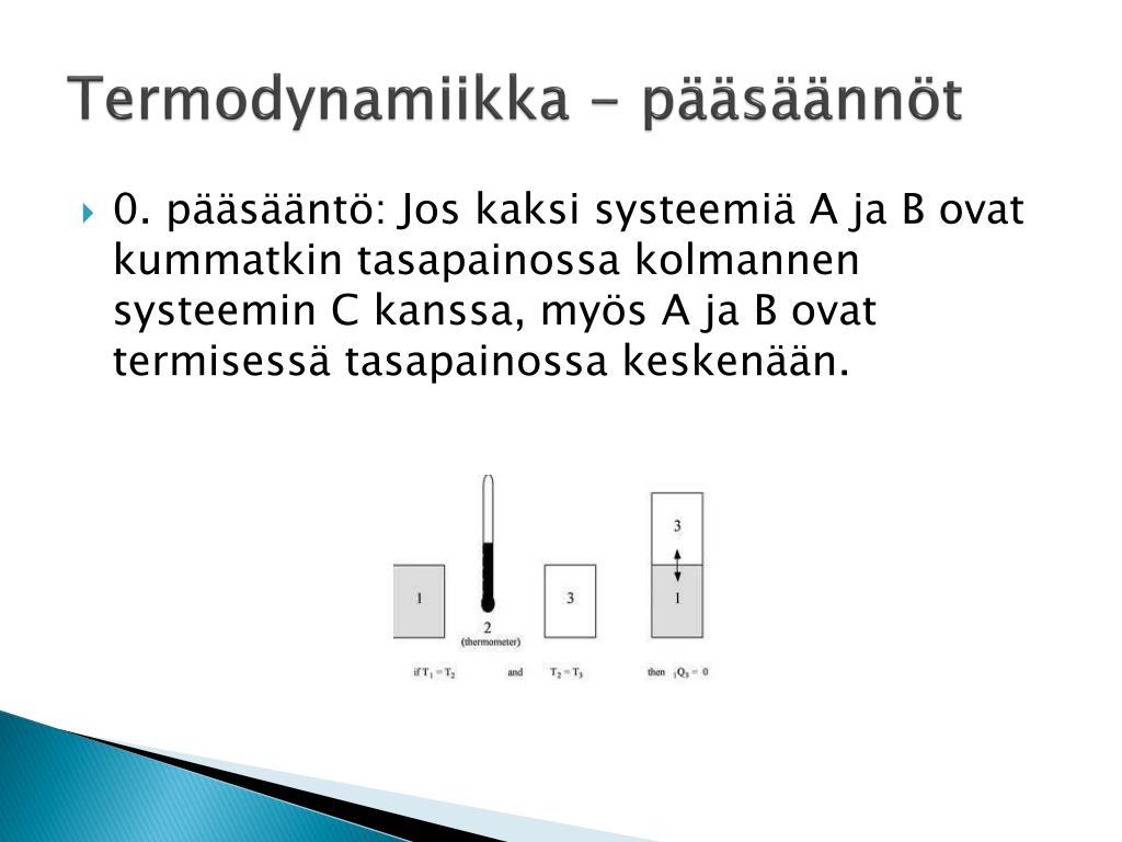 Termodynaaminen Systeemi
