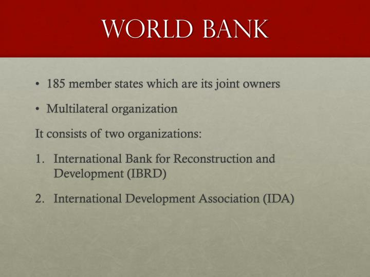 imf and world bank agents western neoliberal imperialism politics essay In fact, neo-liberal standard measures, without taking into consideration the peculiarity of the country, that the imf and world bank impose on states in crisis (they spend more than taxes and related taxes) that require loans, are directly the implementation of the neoliberal ideology of milton friedman, economic and political dictate destructor.