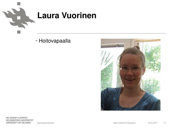 Laura Vuorinen