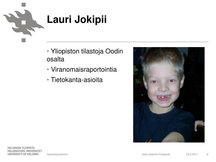 Lauri Jokipii