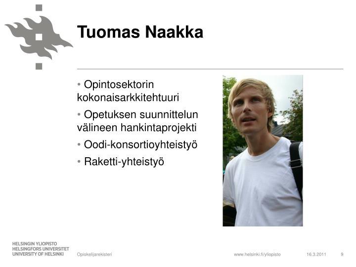 Tuomas Naakka
