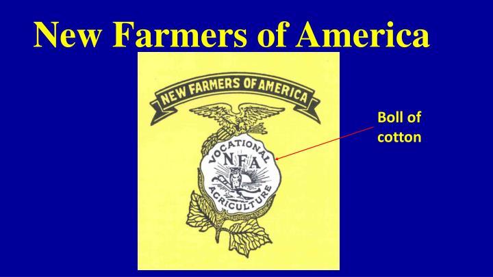 new farmers of america