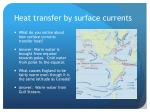 heat transfer by surface currents