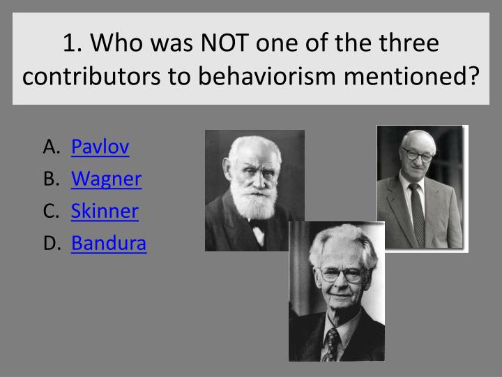 bandura and skinner View essay - bandura and skinner compare and contrast theory paper from school cou schc/506 at university of phoenix bandura and skinner compare and contrast theory paper write a 1,050- to.