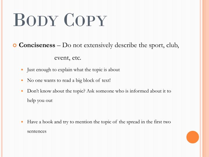 Body copy1