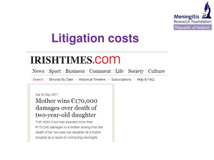 Litigation costs