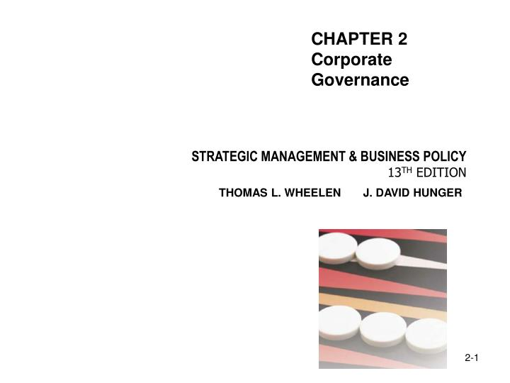 Ppt Strategic Management Business Policy 13 Th Edition