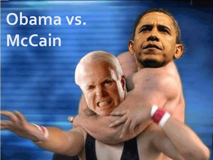 compare contrast obama mccain essay Each is running hard, laser focusing on women, seniors, students and key ethnic voting blocs, using everything from cookie recipes to personal anecdotes to sell their husband as the next president.