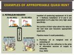 examples of appropriable quasi rent1