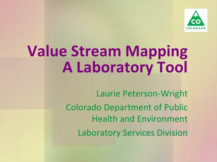 value stream mapping a laboratory tool n.