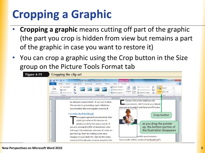 Cropping a Graphic