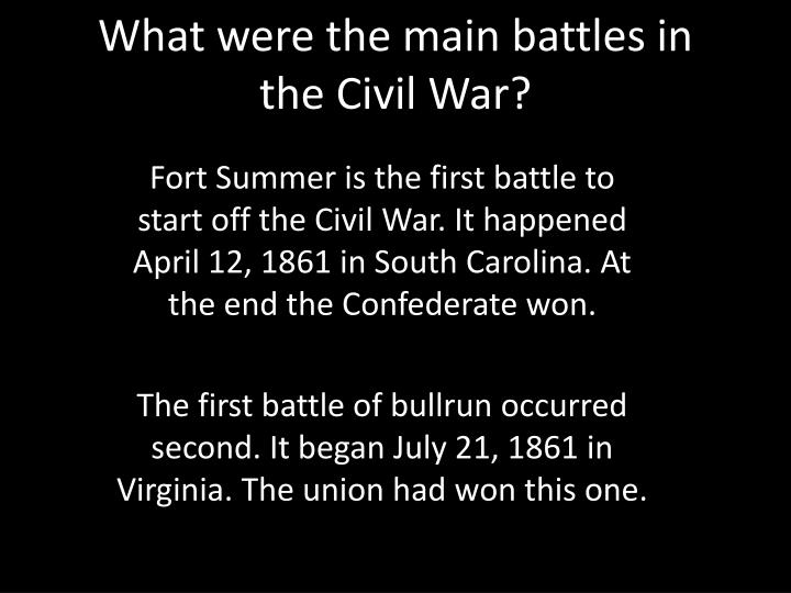 when did the civil war start
