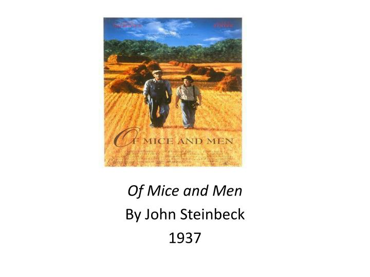 why does john steinbeck introduce crooks n of mice and men