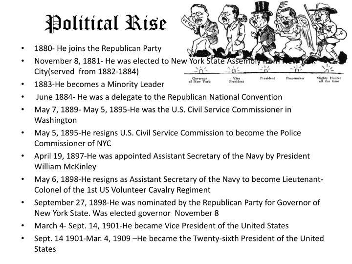 Political rise