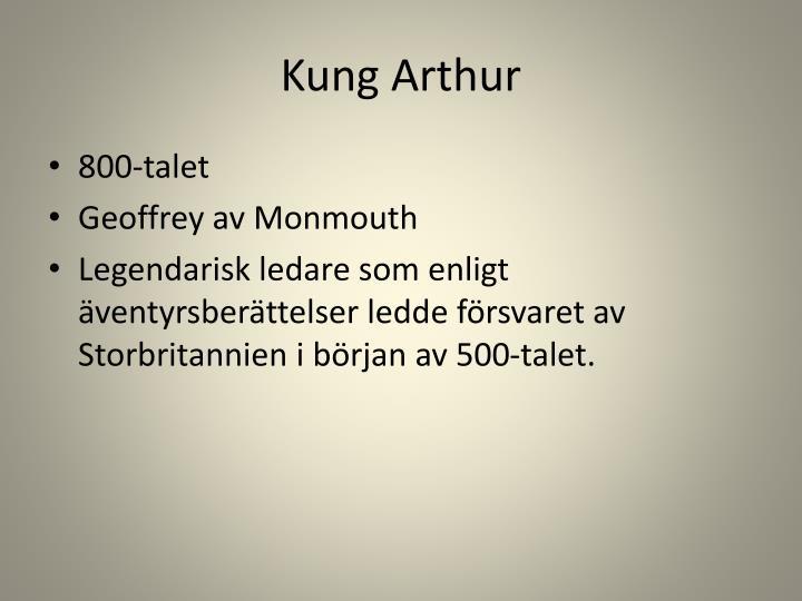 Kung Arthur