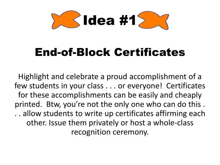 Idea #1