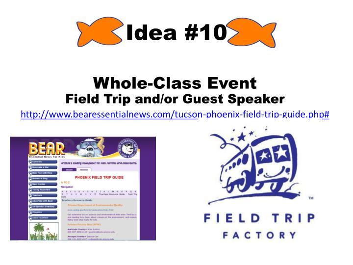 Idea #10