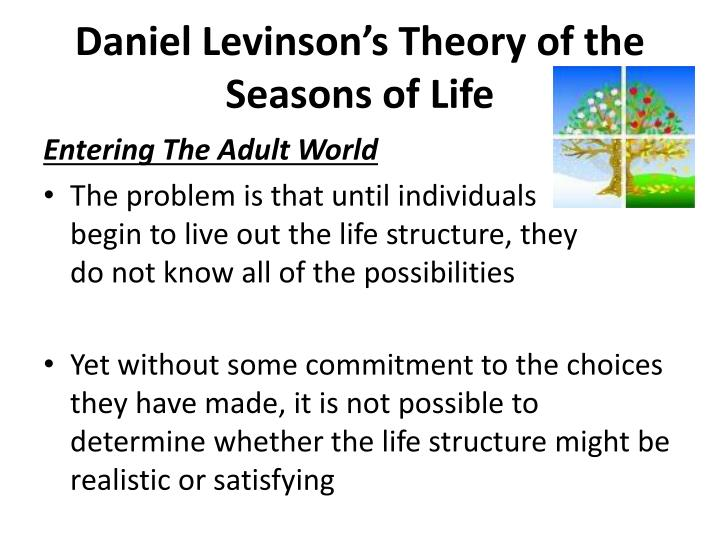 levinsons theory of life structure