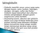 laktoglobulin