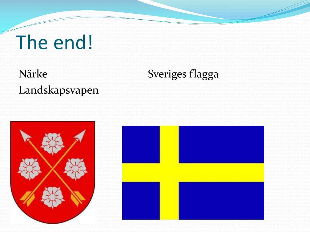 Närke Flagga