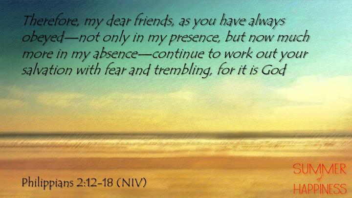 Philippians 2 12 18 niv
