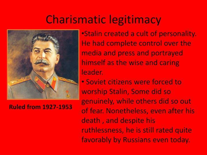 Charismatic legitimacy
