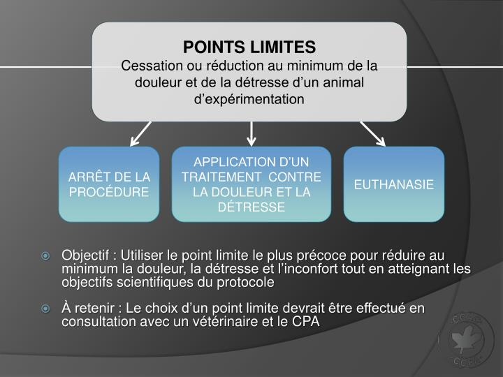 Points limites