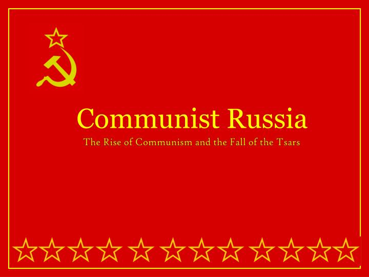 the fall of communism in russia