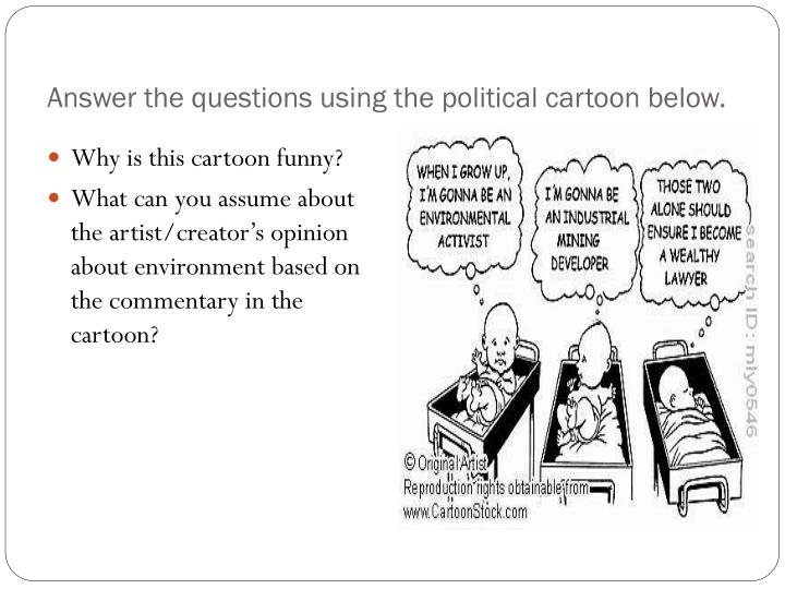 Answer the questions using the political cartoon below.