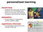 p ersonalized learning