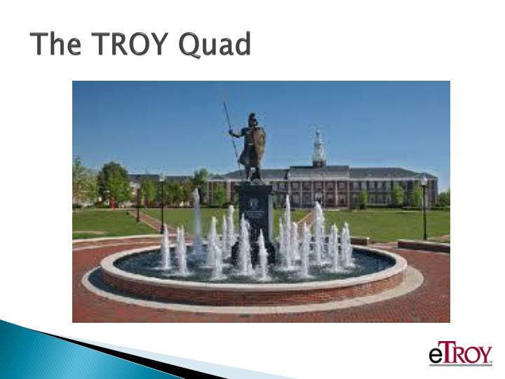 The troy quad