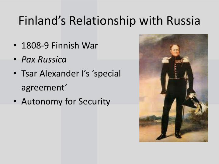 Finland s relationship with russia