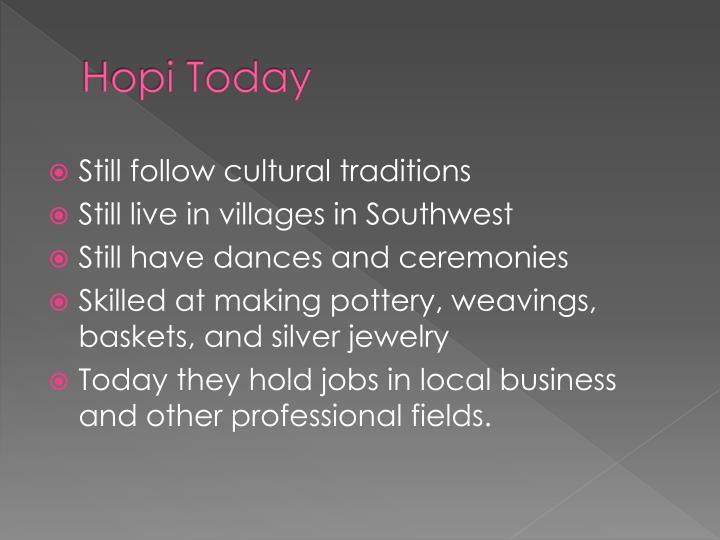 Hopi Today