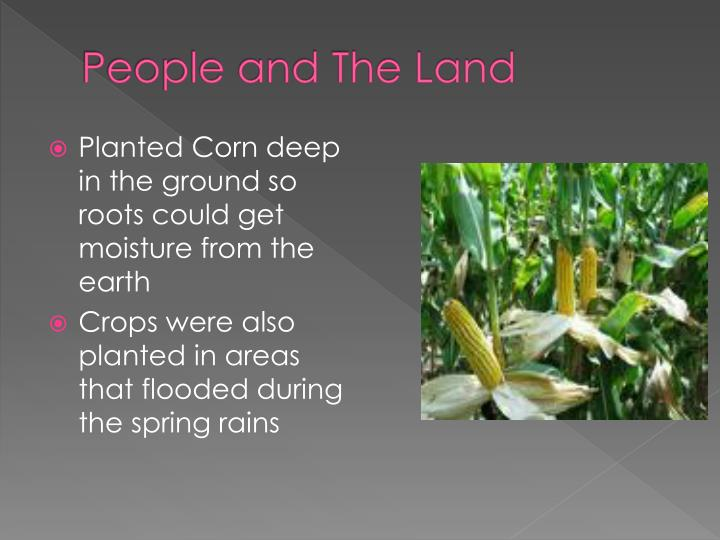People and The Land