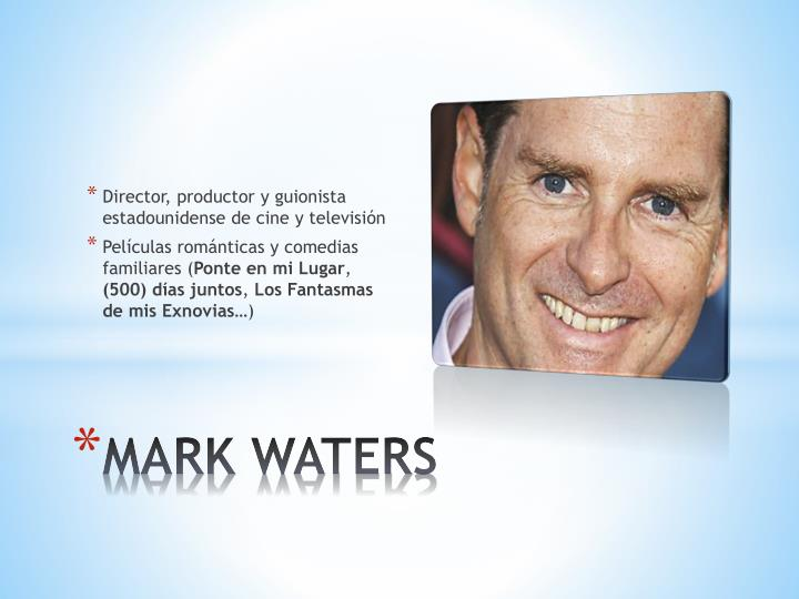 Director, productor y guionista estadounidense de cine y televisión
