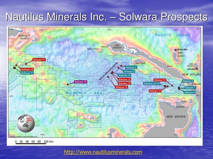 Nautilus Minerals Inc. – Solwara Prospects