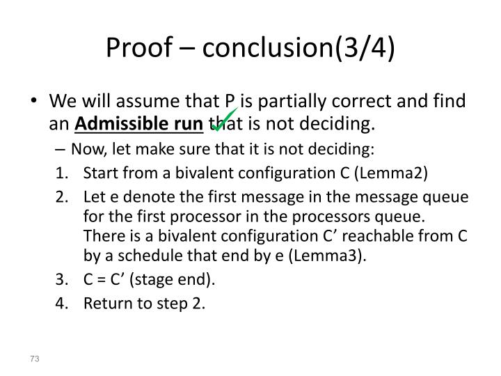 Proof – conclusion(3/4)
