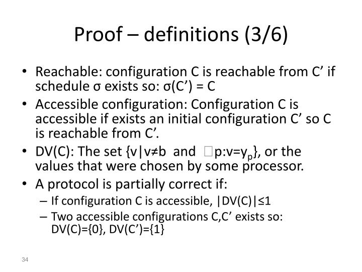 Proof – definitions (3/6)