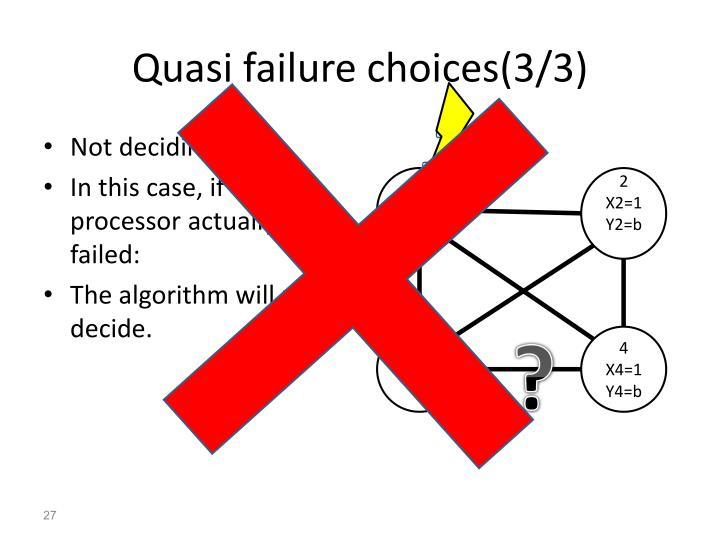 Quasi failure choices(3/3)