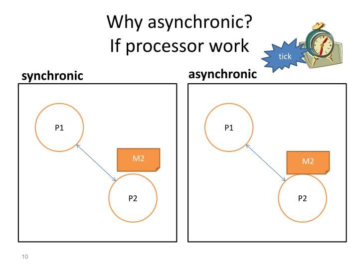 Why asynchronic