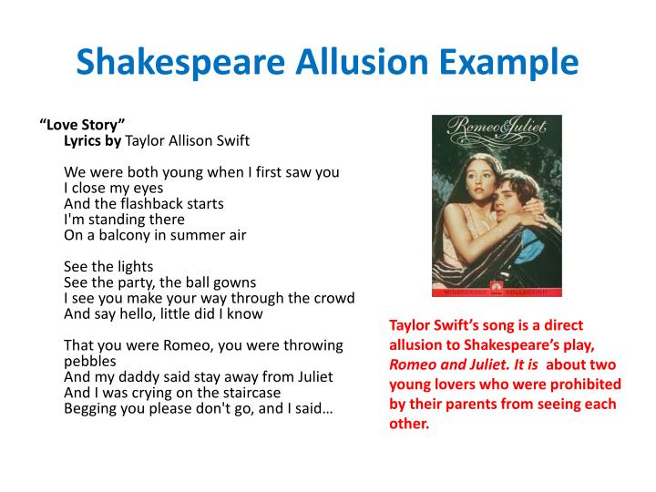 ppt allusions in literature powerpoint presentation id