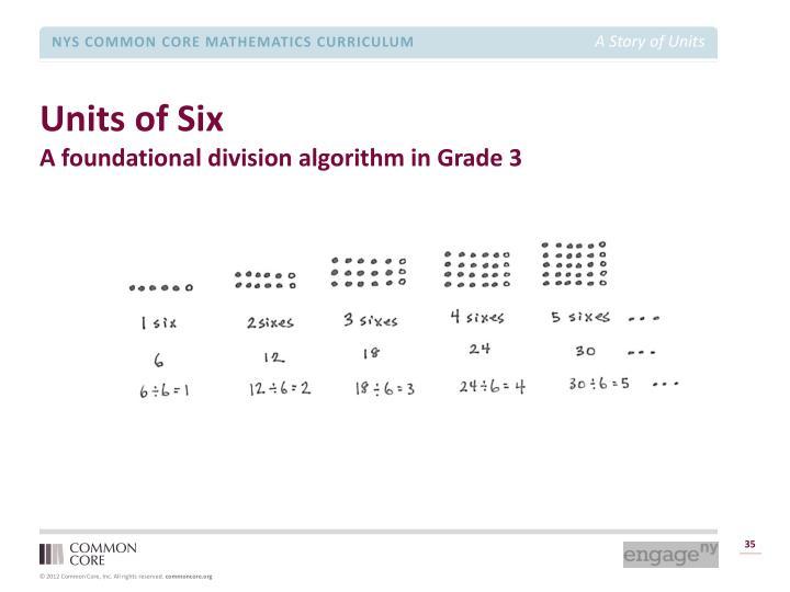 Units of Six
