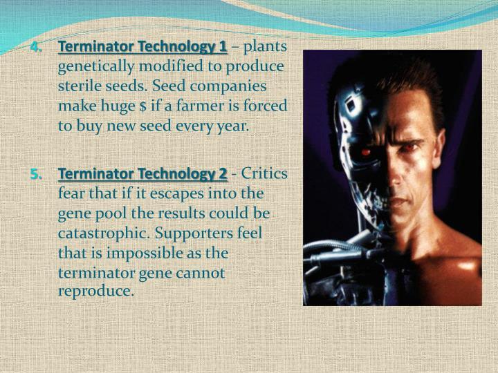 Terminator Technology 1