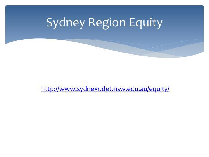Sydney Region Equity