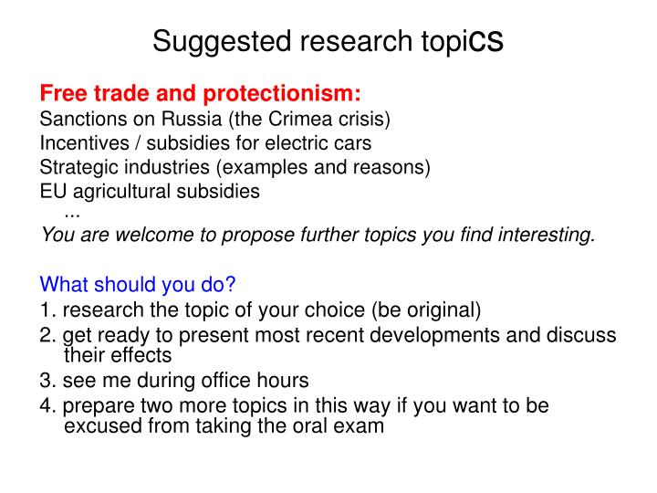 free trade and protection essay