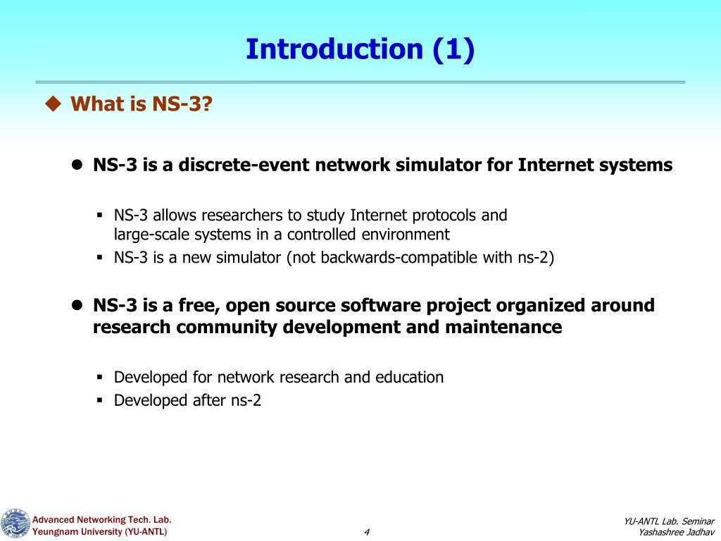 PPT - NS-3 Simulation PowerPoint Presentation - ID:2382481