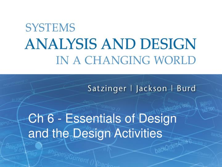 system analysis and design case study questions The paper can be used as a pedagogical tool in a systems analysis and design course, or in an upper-division or graduate course as a case study of the implementation of the sdlc in practice first, a review of the sdlc is provided, followed by a description of the case study environment.