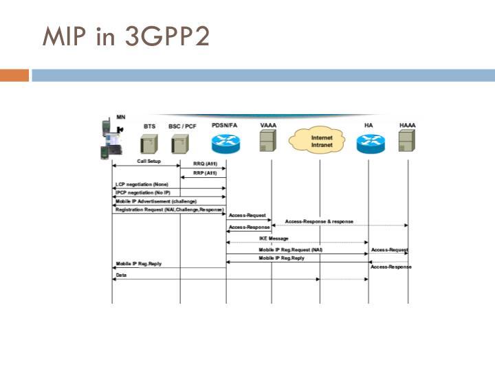 MIP in 3GPP2