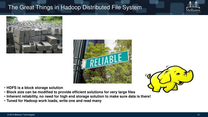 The Great Things in Hadoop Distributed File System